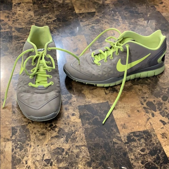Nike Shoes | Grey Lime Green Running